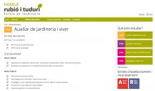 Auxiliar de Jardineria i viver   Rubió i Tudurí