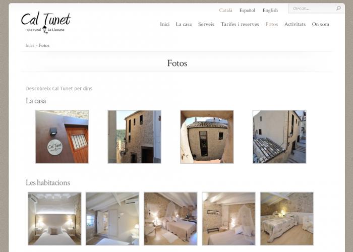 CalTunet_fotos_screenshot