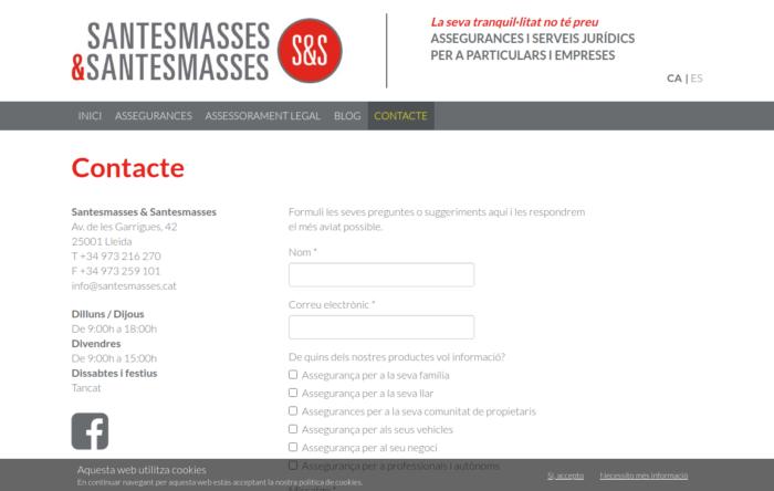 Contacte_Santesmasses_Santesmasses