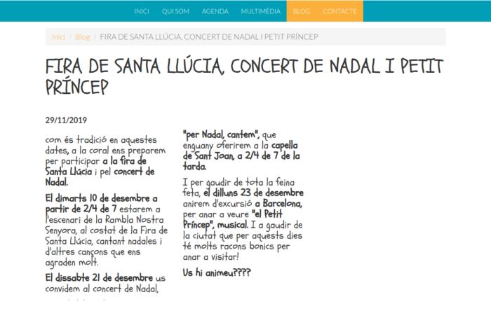 FIRA_DE_SANTA_LLÚCIA_CONCERT_DE_NADAL_I_PETIT_PRÍNCEP_www_lespinguet_org