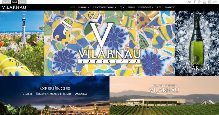 Vilarnau Web Homepage