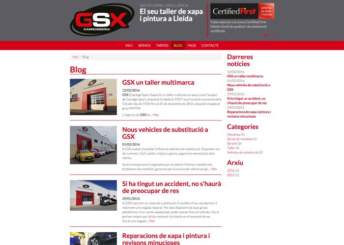 Blog – GSX – Carrosseria